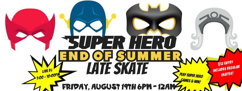 SuperHero Skate FB Cover