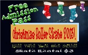 Free roller skating passes