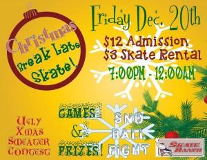 Christmas Late Skate