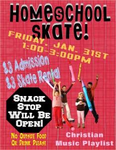 Skate Ranch Homeschool Skate