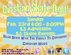 Christian Skate Night Texas