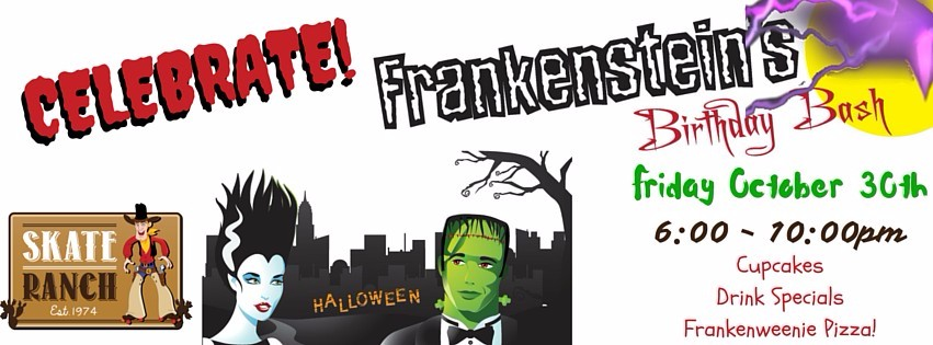 Frankenstein Birthday Bash Poster (3)