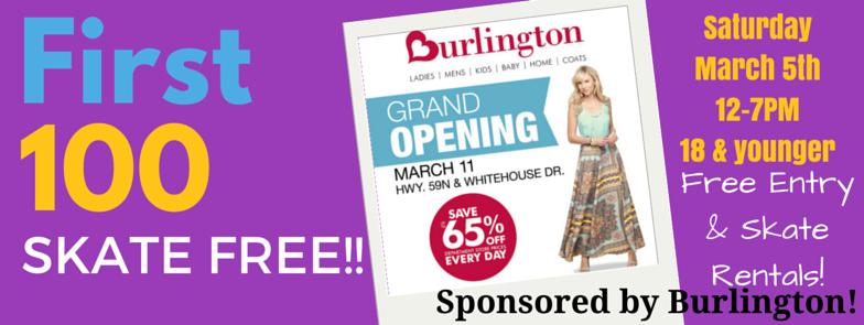 SR Burlington Sponsor